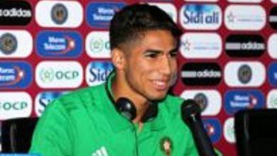 Photo of L'international marocain Achraf Hakimi parmi la «best squad» du 1er tour de la CAN2019