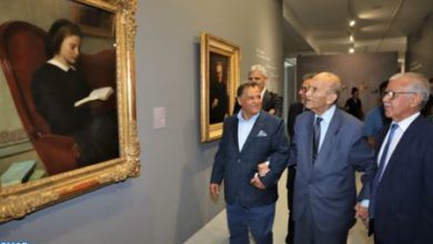 Photo of Abderrahmane Youssoufi au Musée Mohammed VI d'Art Moderne et Contemporain, une visite «symbolique» et un «geste fort» en faveur de la culture