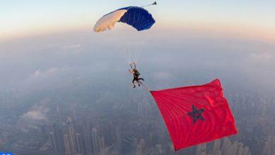Photo of Le parachutiste Anas Bekkali met le cap sur la promotion des monuments du Maroc
