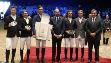 Photo de Morocco Royal Tour de saut d'obstacles (étape d'El Jadida): L'Italien Roberto Torchito s'adjuge le Grand Prix SM le Roi Mohammed VI