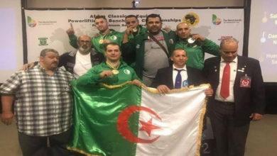 Photo of Championnat d'Afrique de powerlifting: l'Algérie championne avec 19 médailles dont 15 or