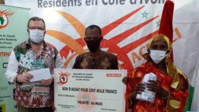 Photo of Coronavirus : Plus de 100 familles marocaines et ivoiriennes profitent d'une opération de solidarité