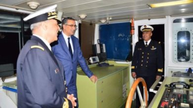 Photo of Tunisie : Le ministre de la Défense visite la base navale de la Goulette