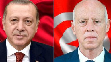 Photo of La crise libyenne au cœur d'un entretien téléphonique Saied-Erdogan