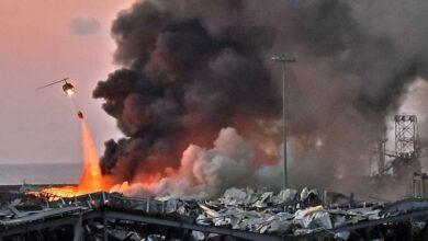Photo of Double explosion à Beyrouth : au moins 100 morts selon un bilan provisoire ; l'explosion serait partie d'un stock de nitrate d'ammonium