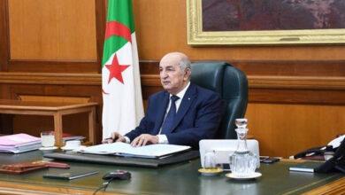Photo de Algérie -Signature de l'ordonnance relative à la protection des professionnels de la santé