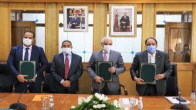 Photo de Maroc – Signature d'une convention-cadre de partenariat avec la FNS pour développer le système national de santé