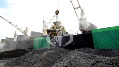 Photo de Exportation de 50.000 tonnes de clinker vers le Gabon depuis le port d'Annaba