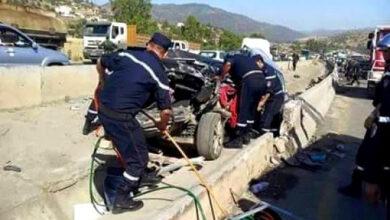 Photo de Algérie -Accidents de la circulation: 32 morts et 1310 blessés en une semaine