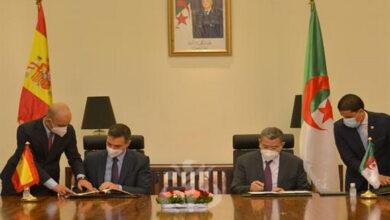 Photo de Algérie-Espagne: Signature d'un mémorandum dans le domaine de l'environnement