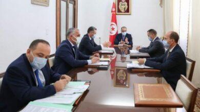 Photo de Tunisie : Séance de travail à La Kasbah en présence de hauts cadres sécuritaires