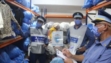 Photo de Maroc-Tanger: saisie de plus de 26.000 unités de vêtements de prêt à porter de contrebande