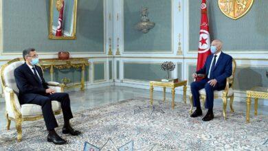 Photo de La  situation sécuritaire dans le pays au centre d'un entretien entre Kais Saied et le ministre de l'intérieur