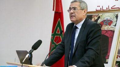 Photo of Casablanca: Visite de travail du ministre de la Justice à la Chambre hébraïque du tribunal civil