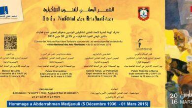 Photo of Le Mois national des arts plastiques, du 15 février au 31 mars 2021