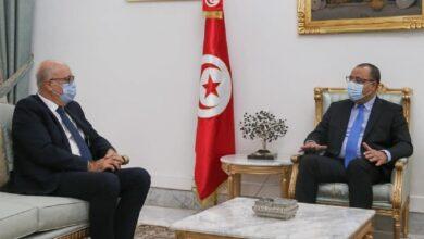 Photo of La crise des finances publiques au centre d'un entretien entre Mechichi et Marouane El Abassi