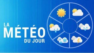 Photo of Tunisie -Météo:Temps parfois nuageux avec pluies éparses sur le nord et localement le centre et le sud Est