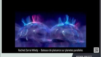 """Photo of Immersion dans l'univers inventé """"l'art de la mutagraphie"""" de Rachèd Zarrai Miladi sélectionné à Art Box Galery de Zurich"""