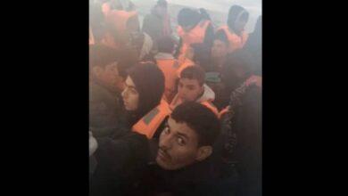 Photo of Une rare vidéo de migrants marocains dont des mineurs en partance pour l'Espagne