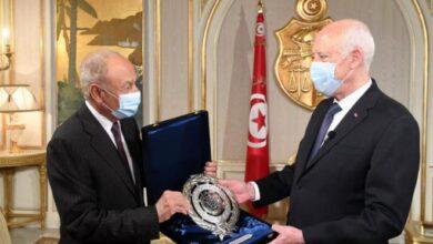 Photo of Saïed reçoit le secrétaire général de la Ligue arabe