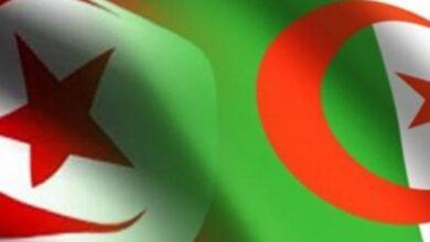 Photo of Le ministre algérien des Affaires étrangères ce jeudi en Tunisie