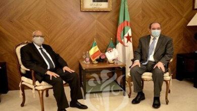 Photo of Boukadoum reçoit son homologue malien