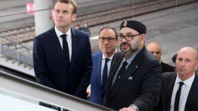 Photo de Mohammed VI envoie un message à Emmanuel Macron