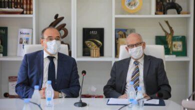 Photo de Séance de travail sur le suivi des projets de coopération culturelle entre la Tunisie et l'Union européenne