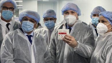 Photo de Le Premier ministre procède au lancement de la production du vaccin anti-Covid19