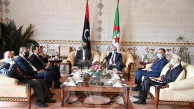 Photo de Al-Kouni: je viens pour informer le Président Tebboune de la teneur de mes visites dans les pays voisins au sud de la Libye