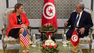 Photo de Jerandi reçoit la sous-secrétaire d'État américaine pour le Proche- Orient
