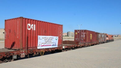 Photo de Transport des déchets ferreux : première expédition par train vers le port de Bejaia