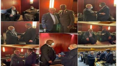Photo de UA: Lamamra rencontre plusieurs de ses homologues africains