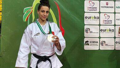 Photo de Judo : la Marocaine Sarah Harachi remporte l'or à l'European Open